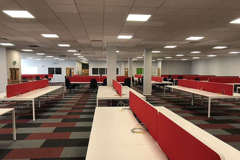 Commercial Led Lighting Case Study Ocs Group Ecosol